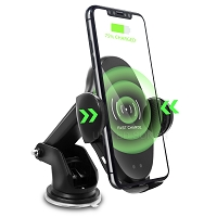 New N10 Car Wireless Rapid Charger Black